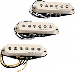 FENDER PICKUPS HOT NOISELESS STRATOCASTER JEFF BECK STYLE (SET OF 3)