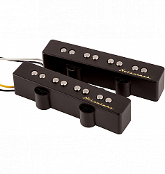 FENDER Vintage Noiseless Jazz Bass Pickups, (2)