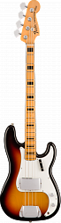 FENDER Custom Shop 1969 Closet Classic Precision Bass, Maple Fingerboard, 3-Color Sunburst бас-гитара
