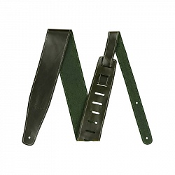 FENDER BROKEN-IN LEATHER STRAP GREEN 2.5`