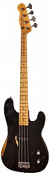 FENDER Custom Shop Dusty Hill Signature Precision Bass, Maple Fingerboard, Black бас-гитара