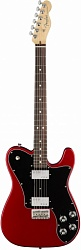 FENDER AM PRO Telecaster® Deluxe ShawBucker Rosewood Fingerboard Candy Apple Red