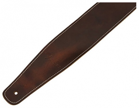FENDER BROKEN-IN LEATHER STRAP BROWN 2.5`