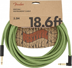 FENDER 18.6` ANG CABLE, PURE HEMP GRN