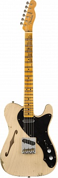 FENDER 2019 LIMITED LOADED THINLINE NOCASTER® RELIC®, MAPLE FINGERBOARD, AGED DIRTY WHITE BLONDE – фото 1