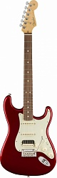 FENDER AM PRO Stratocaster® Rosewood Fingerboard Candy Apple Red