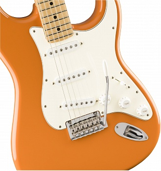 FENDER PLAYER STRATOCASTER®, MAPLE FINGERBOARD, CAPRI ORANGE – фото 4