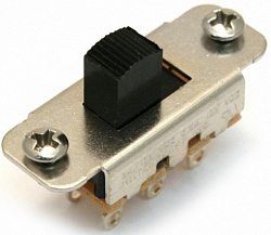 FENDER Jaguar/Jazzmaster Slide Switch DPDT Black