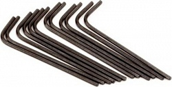 FENDER WRENCH .050 HEX KEY SHORT ARM (12)