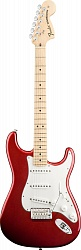FENDER AM PRO Stratocaster® HSS ShawBucker Rosewood Fingerboard Candy Apple Red