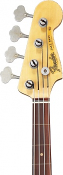 Fender Custom Shop Jaco Pastorius Tribute Jazz Bass, Rosewood Fingerboard, 3-Color Sunburst – фото 3
