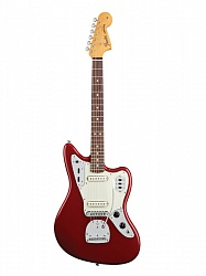 FENDER AM PRO Jaguar® Rosewood Fingerboard Candy Apple Red