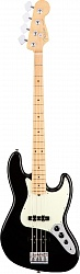 FENDER AM PRO JAZZ BASS MN BK
