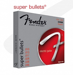 FENDER STRINGS NEW SUPER BULLET 3250LR NPS BULLET END 9-46