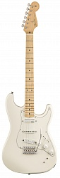 FENDER Ed O`Brien Stratocaster, Maple Fingerboard, Olympic White