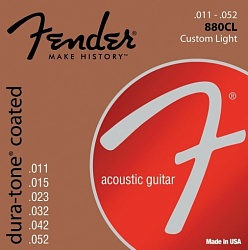 FENDER Dura-Tone 880CL 80/20 Coated 11-52