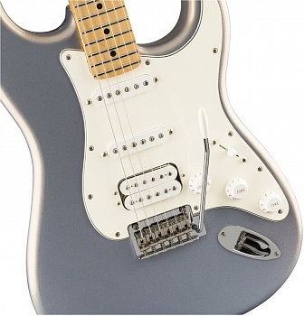 FENDER PLAYER STRATOCASTER® HSS, MAPLE FINGERBOARD, SILVER – фото 3