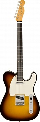 FENDER 2018 VINTAGE CUSTOM 1959 TELECASTER® CUSTOM - CHOCOLATE 3-COLOR SUNBURST