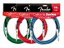 FENDER 15` CALIFORNIA INSTRUMENT CABLE CANDY APPLE RED – фото 1